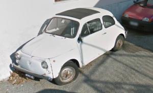 Un'auto abbandonata recentemente rimossa a Vicomorasso