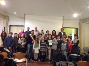 Foto di gruppo per i Consigli comunali di Sant'Olcese
