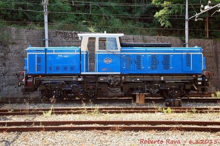 Il locomotore D1 ha funzionato come riserva in questi giorni