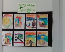 mostra artisti in erba L'urlo di Munch
